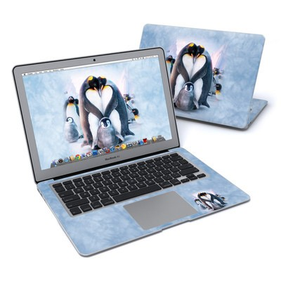 MacBook Air 13in Skin - Penguin Heart