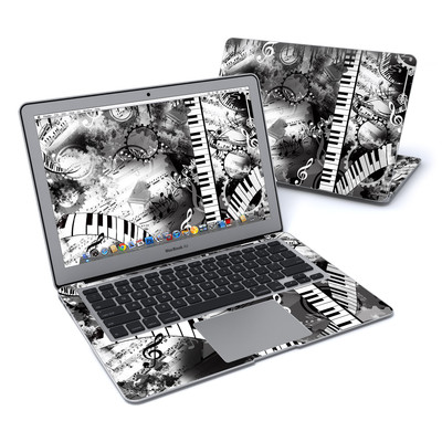 MacBook Air 13in Skin - Piano Pizazz