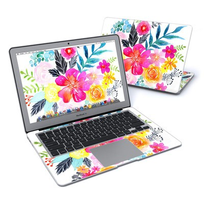 MacBook Air 13in Skin - Pink Bouquet