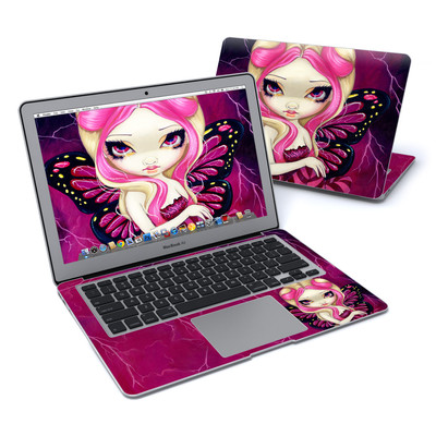 MacBook Air 13in Skin - Pink Lightning