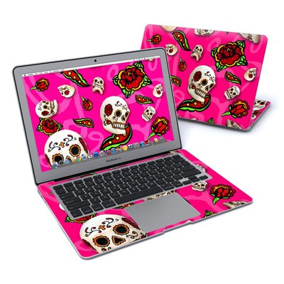 MacBook Air 13in Skin - Pink Scatter