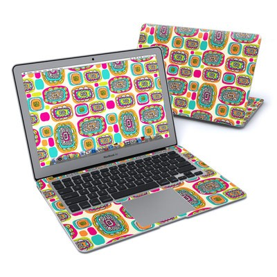 MacBook Air 13in Skin - Pod Flowers