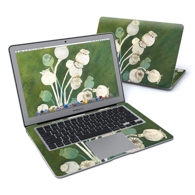MacBook Air 13in Skin - Poppy Pods