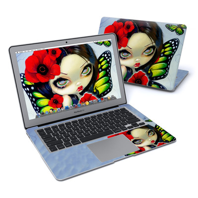 MacBook Air 13in Skin - Poppy Magic