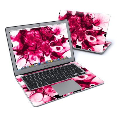 MacBook Air 13in Skin - Pink Splatter