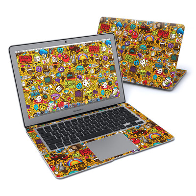 MacBook Air 13in Skin - Psychedelic