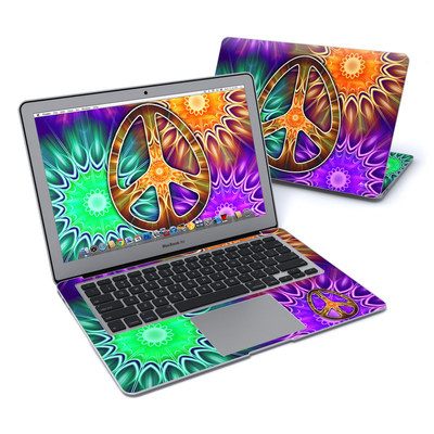 MacBook Air 13in Skin - Peace Triptik