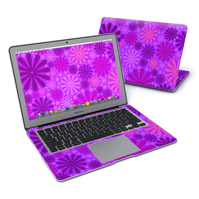 MacBook Air 13in Skin - Purple Punch