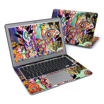 MacBook Air 13in Skin - Purple Birds