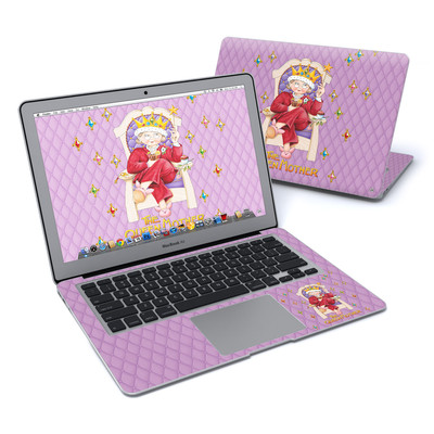 MacBook Air 13in Skin - Queen Mother
