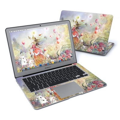MacBook Air 13in Skin - Queen of Hearts