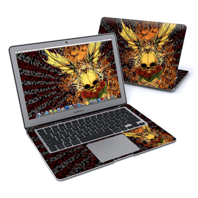 MacBook Air 13in Skin - Radiant Skull