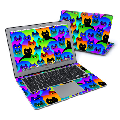 MacBook Air 13in Skin - Rainbow Cats