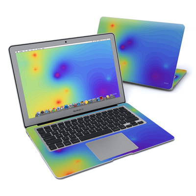 MacBook Air 13in Skin - Rainbow Contours