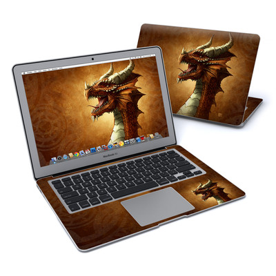 MacBook Air 13in Skin - Red Dragon