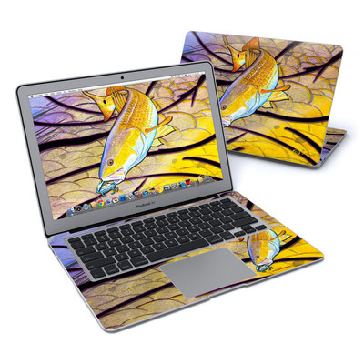 MacBook Air 13in Skin - Red Fish