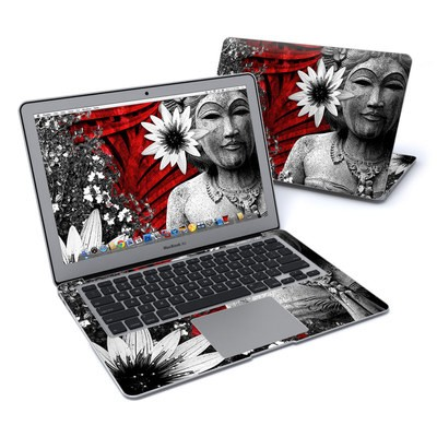 MacBook Air 13in Skin - Red Island Radiance