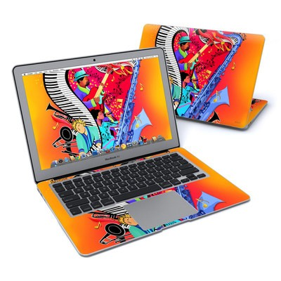 MacBook Air 13in Skin - Red Hot Jazz