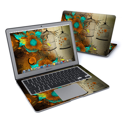 MacBook Air 13in Skin - Rusty Lace