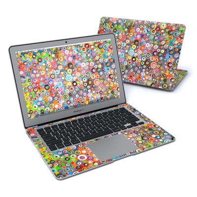 MacBook Air 13in Skin - Round and Round