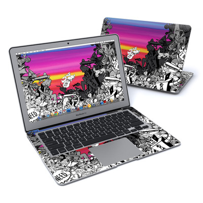 MacBook Air 13in Skin - Robo Fight