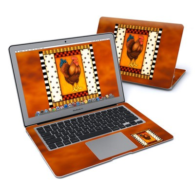 MacBook Air 13in Skin - Rooster Square