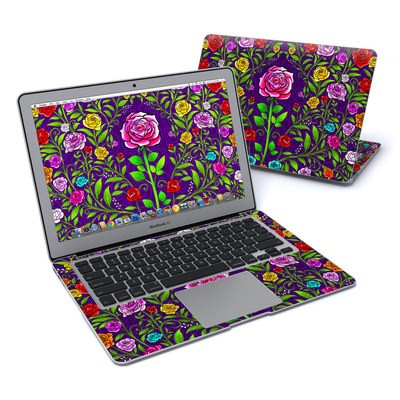 MacBook Air 13in Skin - Rose Burst