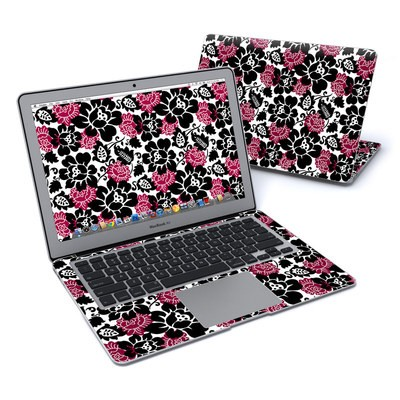 MacBook Air 13in Skin - Rose Noir