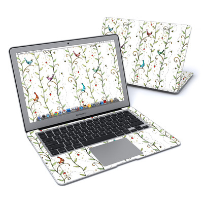 MacBook Air 13in Skin - Royal Birds