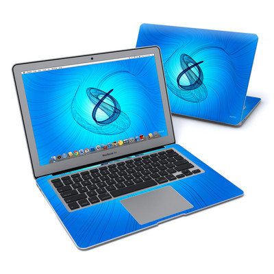 MacBook Air 13in Skin - Rotating Swirls