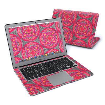 MacBook Air 13in Skin - Ruby Salon