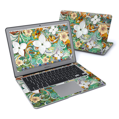 MacBook Air 13in Skin - Sangria Flora