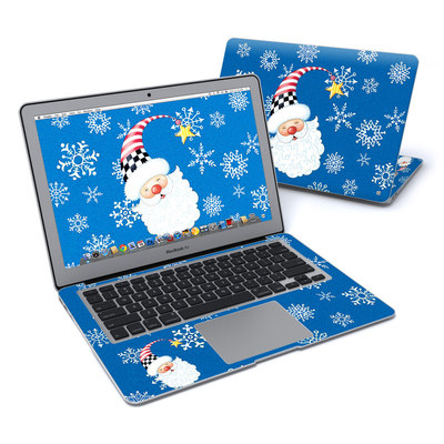 MacBook Air 13in Skin - Santa Snowflake