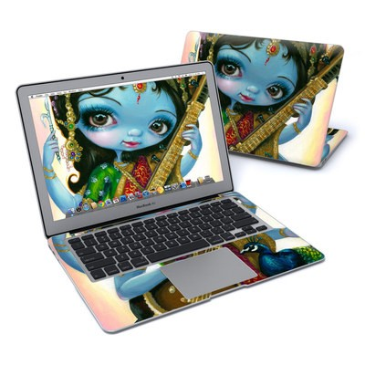 MacBook Air 13in Skin - Saraswati Playing
