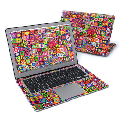MacBook Air 13in Skin - Square Dancing