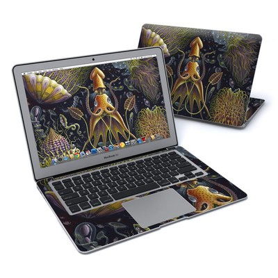 MacBook Air 13in Skin - Sea Flowers