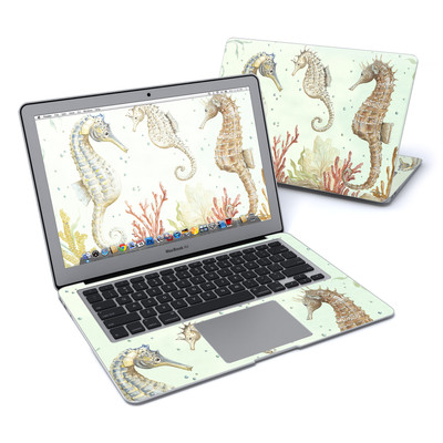 MacBook Air 13in Skin - Seahorse Trio