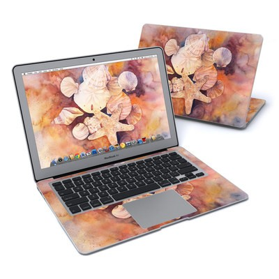 MacBook Air 13in Skin - Sea Shells