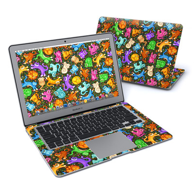 MacBook Air 13in Skin - Sew Catty