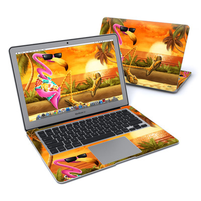 MacBook Air 13in Skin - Sunset Flamingo
