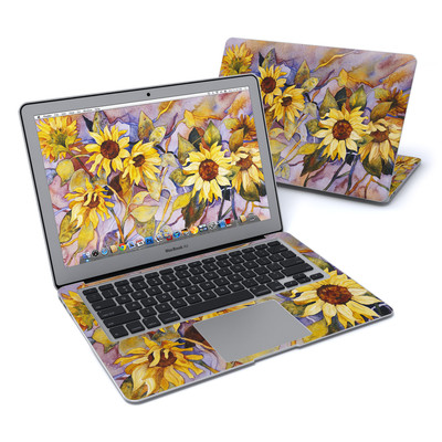 MacBook Air 13in Skin - Sunflower