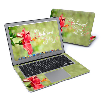 MacBook Air 13in Skin - She Believed