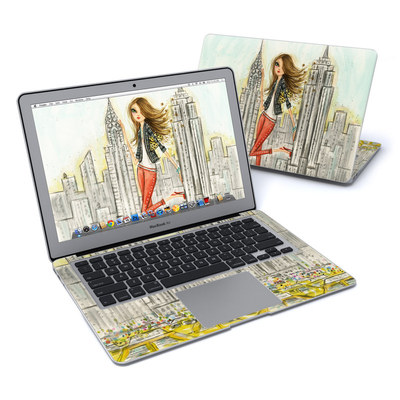 MacBook Air 13in Skin - The Sights New York