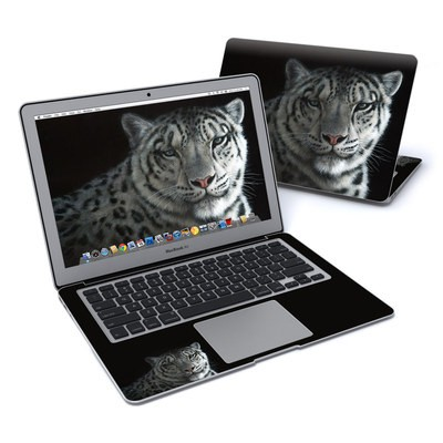 MacBook Air 13in Skin - Silver Shadows
