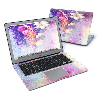 MacBook Air 13in Skin - Sketch Flowers Lily