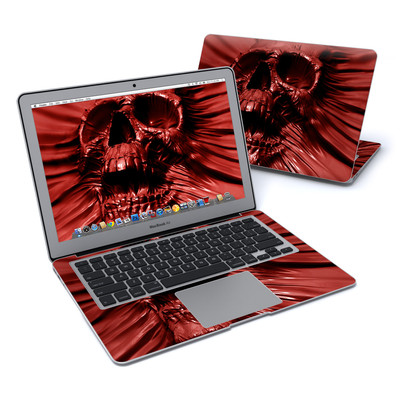 MacBook Air 13in Skin - Skull Blood
