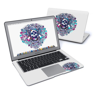 MacBook Air 13in Skin - Skulls Are Cliche