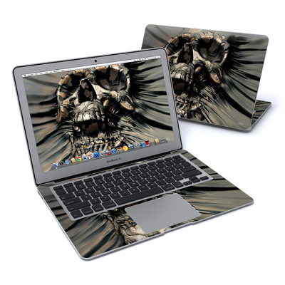 MacBook Air 13in Skin - Skull Wrap