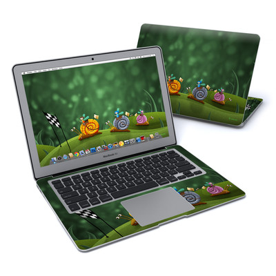 MacBook Air 13in Skin - Snail Race