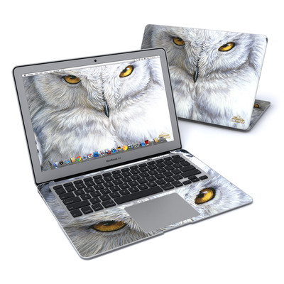 MacBook Air 13in Skin - Snowy Owl